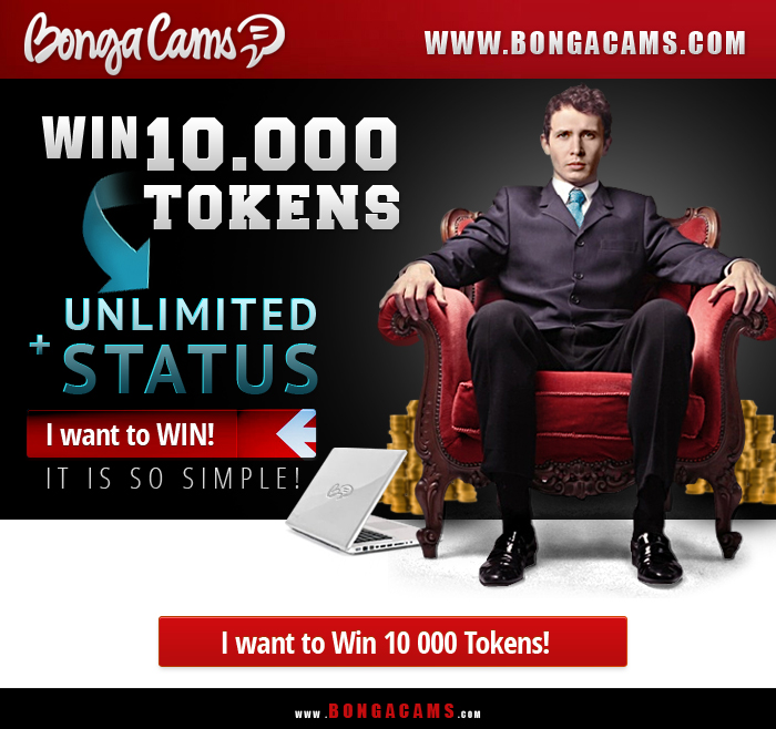 10000 tokens BongaCams contest