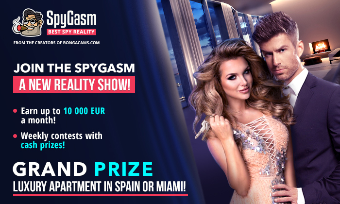 The new reality show SpyGasm.com has officially begun!