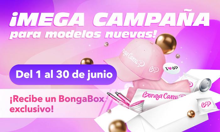 ¡EXCLUSIVA BongaBox para las nuevas modelos! ¡Únete ahora y recíbela como un regalo!
