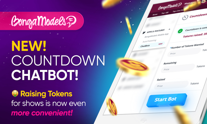 New! Chatbot for setting countdown!