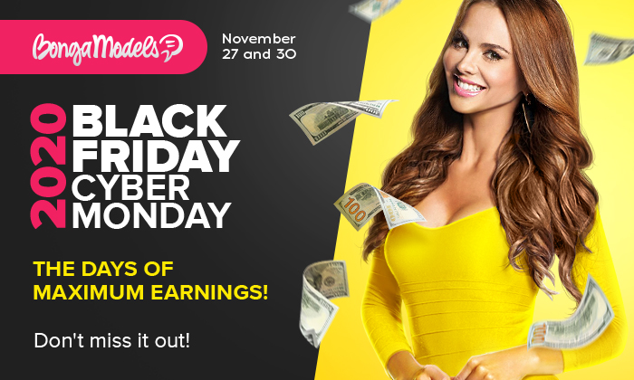 Days of record-high earnings! BLACK FRIDAY and CYBER MONDAY 2020!