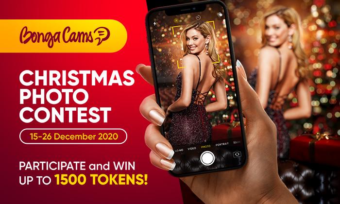 Christmas photo contest on BongaCams!