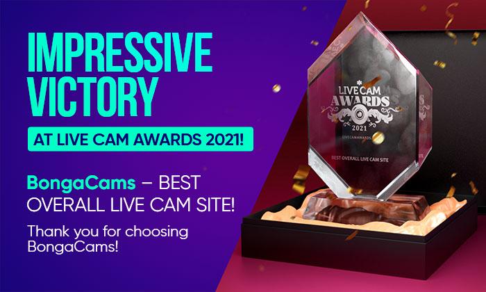 BongaCams - Best Overall Live Cam Site by Live Cam Awards 2021! 🏆