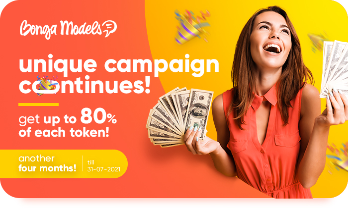HURRY UP TO EARN TO THE MAX! Get UP TO 80% of EACH TOKEN! 🤑