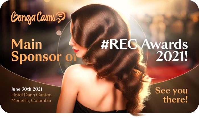 BongaCams - MAIN SPONSOR of #REC Awards 2021