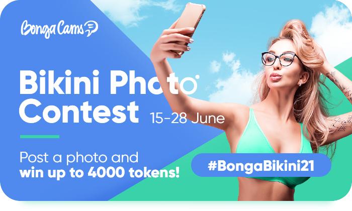BongaCams 2021 Bikini Photo Contest ❤️