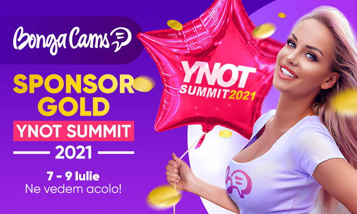 BongaCams - SPONSOR GOLD al Summit-ului YNOT 2021 ✨