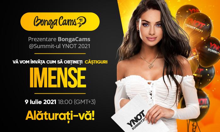 Câștiguri IMENSE cu BongaCams: Dezvăluirea secretelor la Summit-ul YNOT 2021