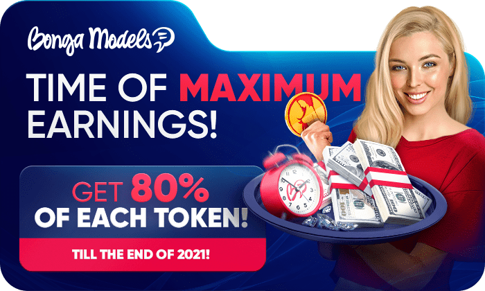 MODELS' EARNINGS ARE OFF THE CHARTS! 🤑 WE PAY 80% OF EVERY TOKEN!