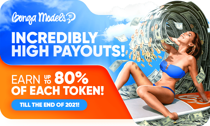 INCREDIBLY HIGH percentage of PAYOUTS! Earn UP TO 80% of EACH TOKEN!