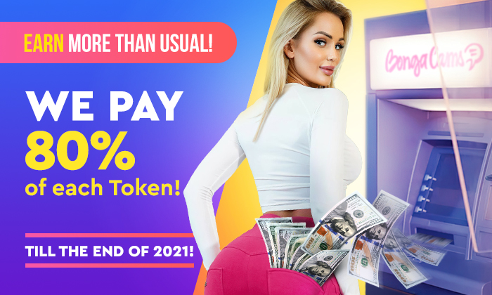 MODELS' INCOME IS CONSTANTLY GROWING! 🤯 WE PAY 80% OF EACH TOKEN!