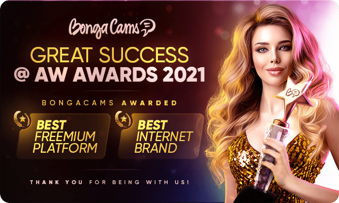 GRAND VICTORY! BongaCams won in TWO nominations @ AW Awards 2021! 👏🏻